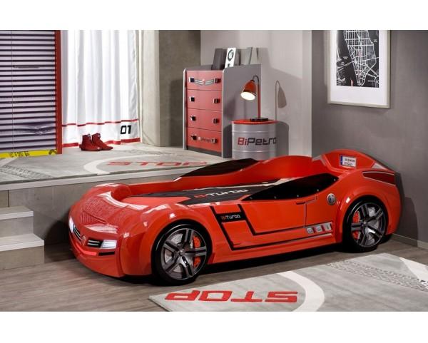 42beefedbfcf Dětská postel auto 90x195 cm BiTurbo