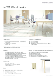 Technical information_NOVA Wood desks_EN.pdf
