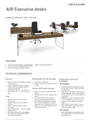 Technical information_AIR Executive desks_EN.pdf