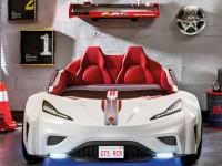 90d098fbb176 ... Dětská postel Auto GTS 100x190 cm bílá - 3