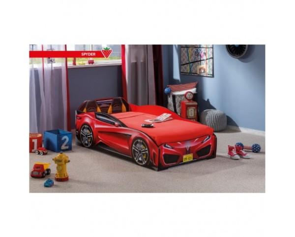 ff76d4686ec2 Dětská postel auto 70 x 130 cm SPYDER